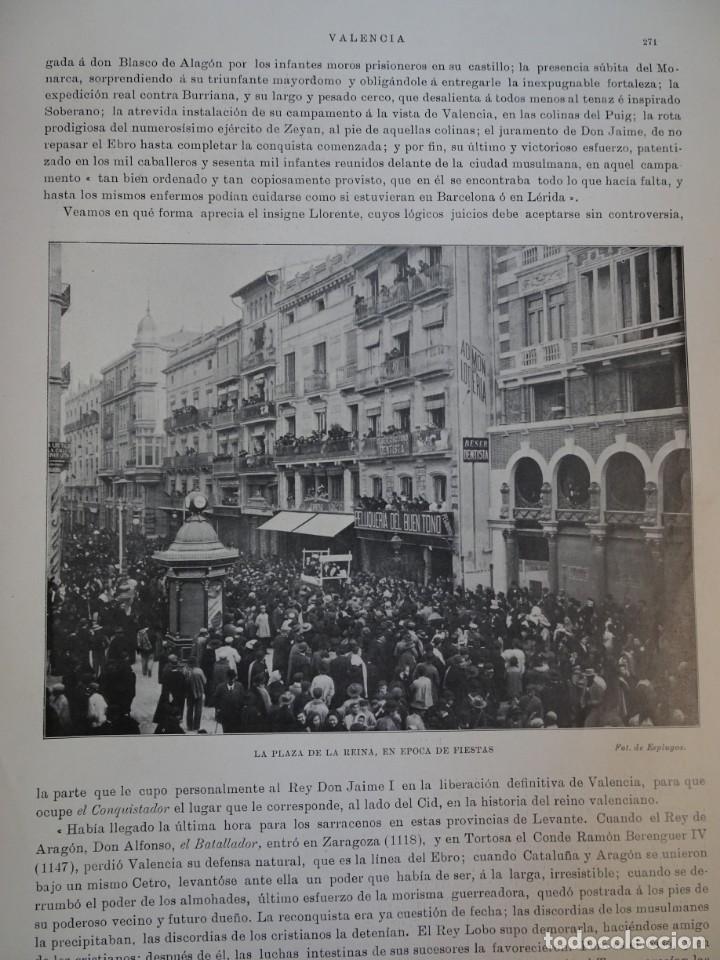 Coleccionismo de Revistas y Periódicos: ANTIGUO SEMANARIO ILUSTRADO - ALBUM SALÓN- LA PRINCESA VICTORIA DE BATTEMBERG , VER FOTOS - Foto 9 - 132627770