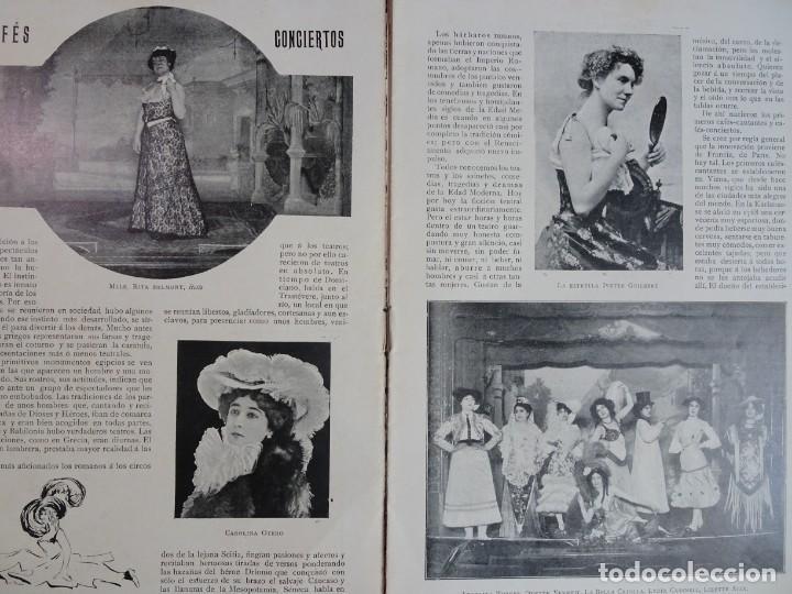 Coleccionismo de Revistas y Periódicos: ANTIGUO PERIÓDICO ILUSTRADO - PLUMA Y LAPIZ - Nº 132 , VER FOTOS - Foto 3 - 132628242