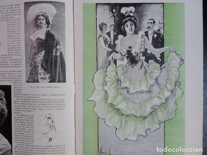 Coleccionismo de Revistas y Periódicos: ANTIGUO PERIÓDICO ILUSTRADO - PLUMA Y LAPIZ - Nº 132 , VER FOTOS - Foto 4 - 132628242
