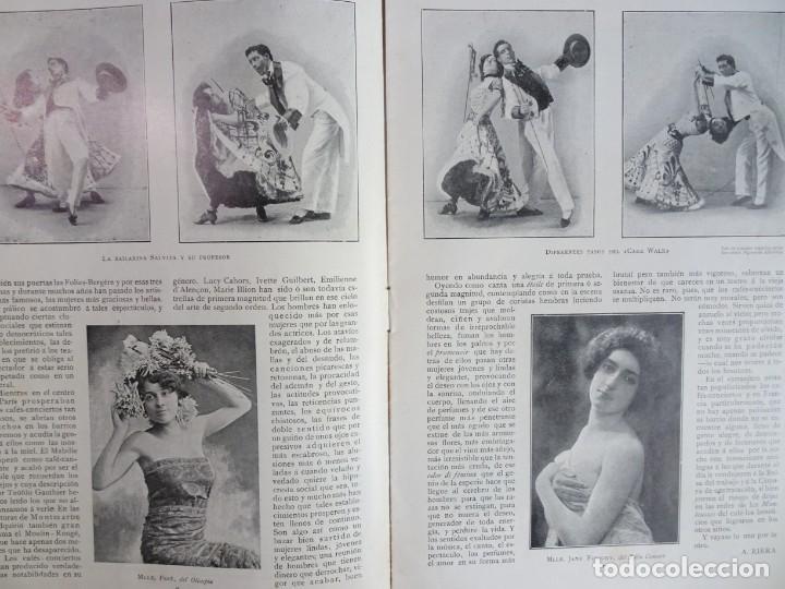Coleccionismo de Revistas y Periódicos: ANTIGUO PERIÓDICO ILUSTRADO - PLUMA Y LAPIZ - Nº 132 , VER FOTOS - Foto 5 - 132628242