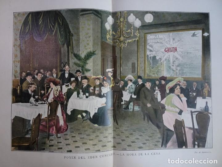 Coleccionismo de Revistas y Periódicos: ANTIGUO PERIÓDICO ILUSTRADO - PLUMA Y LAPIZ - Nº 132 , VER FOTOS - Foto 7 - 132628242