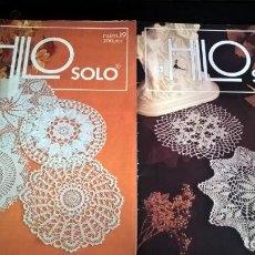 Coleccionismo de Revistas y Periódicos: LOTE DE 2 REVISTAS. HILO SOLO. NUMEROS 12 Y 19. . Lote 132636662