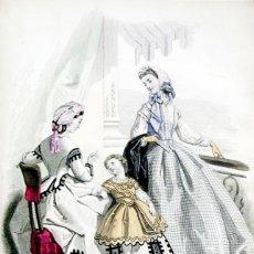 Coleccionismo de Revistas y Periódicos: JOURNAL DES DEMOISELLES. TRENTE-DEUXIÈME ANNÉE. - [REVISTA.] - PARÍS, 1864.. Lote 123269822