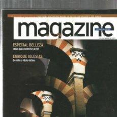 Coleccionismo de Revistas y Periódicos: REVISTA MAGAZINE : AL ANDALUS + ENRIQUE IGLESIAS . Lote 132687830
