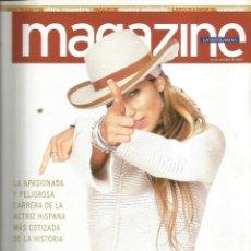 Coleccionismo de Revistas y Periódicos: REVISTA MAGAZINE : JENNIFER LOPEZ + CELIA CRUZ + CALCUTA . Lote 132688082