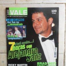 Coleccionismo de Revistas y Periódicos: REVISTA NUEVO VALE, N 1009 AÑO 1998. Lote 132803862