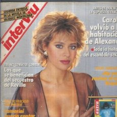 Coleccionismo de Revistas y Periódicos: INTERVIU NUMERO 0640: ALESSANDRA MUSSOLINI, LA NIETA DEL DUCE. Lote 132804350