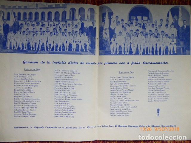 Coleccionismo de Revistas y Periódicos: revista malagueña, victoria, 1957, H.H. Maristas, - Foto 3 - 132820606