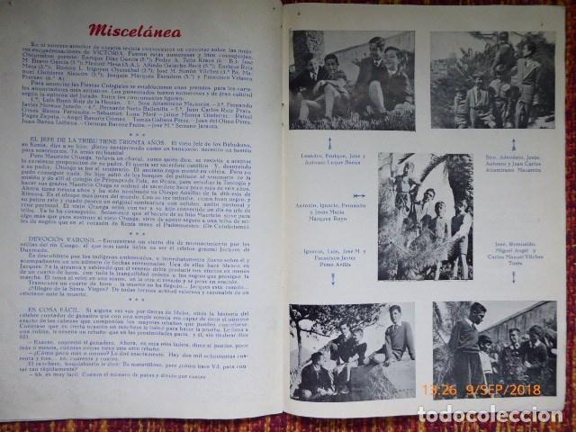Coleccionismo de Revistas y Periódicos: revista malagueña, victoria, 1957, H.H. Maristas, - Foto 4 - 132820606