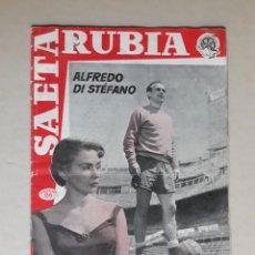 Coleccionismo de Revistas y Periódicos: REVISTA DEPORTIVA... SAETA RUBIA..ALFREDO DI STEFANO. Lote 132829018