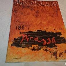 Coleccionismo de Revistas y Periódicos: EL SOCIALISTA, CENTENARIO PICASSO (1977). Lote 132854501