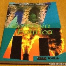 Coleccionismo de Revistas y Periódicos: ECOLOGIA POLÍTICA, NÚMERO 1, 1990. CUADERNOS DE DEBATE INTERNACIONAL. Lote 132879294