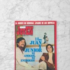 Coleccionismo de Revistas y Periódicos: MUNDO JOVEN - 1969 - JUAN PARDO Y JUNIOR, JULIAN GRANADOS, JAVALOYAS, MARI TRINI, MANOLO SANTANA. Lote 132891598