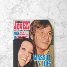 Coleccionismo de Revistas y Periódicos: MUNDO JOVEN - 1969 - MASSIEL, JESS & JAMES, DAVID ALEXANDRE WINTER, PERET, ALBERTO CORTEZ. Lote 132892634