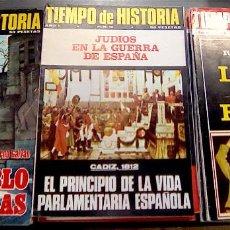 Coleccionismo de Revistas y Periódicos: 13 NÚMEROS TIEMPO DE HISTORIA. AÑOS 1975-1976. Lote 132931798