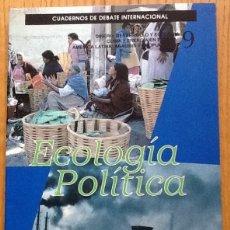 Coleccionismo de Revistas y Periódicos: ECOLOGIA POLÍTICA, NÚMERO 9, 1995. CUADERNOS DE DEBATE INTERNACIONAL. Lote 132939574