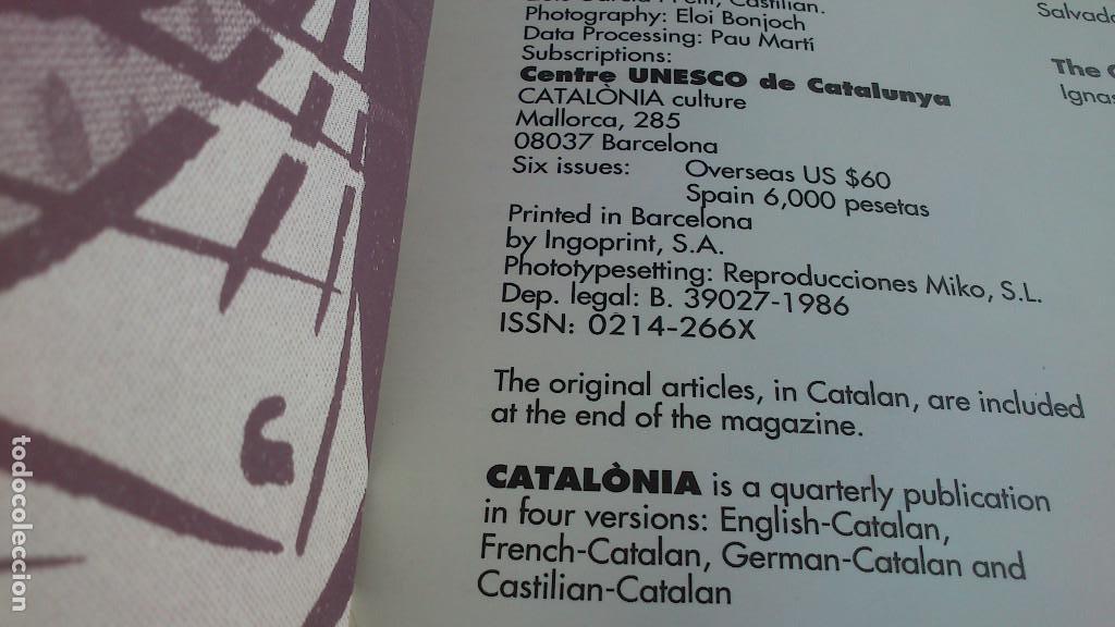 Coleccionismo de Revistas y Periódicos: CATALÓNIA CULTURE - JANUARY 1994 · 36 - TEXTOS EN INGLÉS - BUEN ESTADO - Foto 3 - 132959714