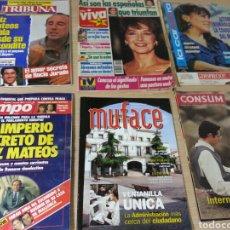 Coleccionismo de Revistas y Periódicos: LOTE REVISTAS. Lote 132979510