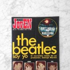 Coleccionismo de Revistas y Periódicos: MUNDO JOVEN - 1969 - BEATLES, ZAGER & EVANS, MAQUINA, PERET, MIGUEL RIOS, DANIEL VELAZQUEZ. Lote 132983538