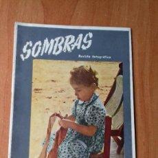 Coleccionismo de Revistas y Periódicos: REVISTA FOTOGRAFICA. SOMBRAS. AÑO II. Nº 9. FEBRERO 1945.. Lote 133036830