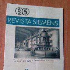Coleccionismo de Revistas y Periódicos: REVISTA. SIEMENS. Nº 11. AÑO IX. 1930.. Lote 133047902