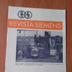 Coleccionismo de Revistas y Periódicos: REVISTA. SIEMENS. Nº 5. AÑO IX. 1930.. Lote 133055618