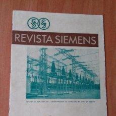 Coleccionismo de Revistas y Periódicos: REVISTA. SIEMENS. Nº12. AÑO IX 1930.. Lote 133055918