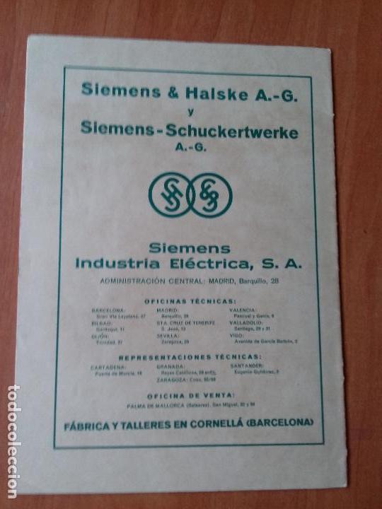 Coleccionismo de Revistas y Periódicos: REVISTA. SIEMENS. Nº12. AÑO IX 1930. - Foto 2 - 133055918