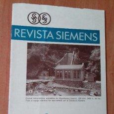 Coleccionismo de Revistas y Periódicos: REVISTA. SIEMENS. Nº3. AÑO IX 1930.. Lote 133056634