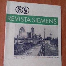 Coleccionismo de Revistas y Periódicos: REVISTA. SIEMENS. Nº2. AÑO IX 1930.. Lote 133056678