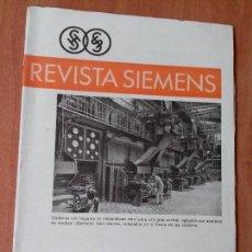 Coleccionismo de Revistas y Periódicos: REVISTA. SIEMENS. Nº1. AÑO IX 1930.. Lote 133056730