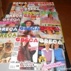 Coleccionismo de Revistas y Periódicos: LOTE 20 REVISTAS GRECA. Lote 133062562