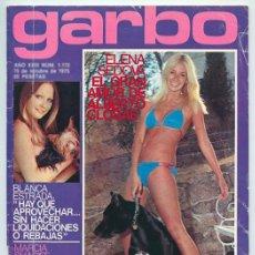 Coleccionismo de Revistas y Periódicos: GARBO - 1975 - ROCÍO DÚRCAL, BLANCA ESTRADA, ÁGATA LYS, DAVID BOWIE, ALEXANDRA BASTEDO JOSELE ROMÁN. Lote 86749200