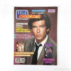 Coleccionismo de Revistas y Periódicos: TELE INDISCRETA AÑO 2 NUM 87 REMINGTON STEELE LAS CHICAS DE ORO VIUDAS TINA TURNER TV TELEINDISCRETA. Lote 133176406