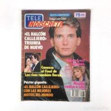 Coleccionismo de Revistas y Periódicos: TELE INDISCRETA AÑO 2 N 75 EL HALCON CALLEJERO LOS RICOS TAMBIEN FALCON CREST REVISTA TELEINDISCRETA. Lote 133176554