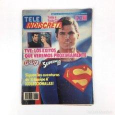 Coleccionismo de Revistas y Periódicos: TELE INDISCRETA AÑO 2 NUM 41 GREASE SUPERMAN III EL EQUIPO A MR. T TELEVISION REVISTA TELEINDISCRETA. Lote 133176670