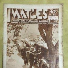 Coleccionismo de Revistas y Periódicos: IMATGES. ANY 1 NÚM. 1. 11 JUNY 1930. 34X24 CM. 20 P.. Lote 133217810
