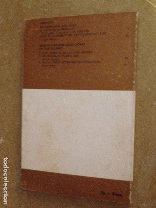 Coleccionismo de Revistas y Periódicos: Monthly Review Vol. 1 (N 10) 1978 (Samir Amin, Lucio Magri, El Pacto de la Moncloa) - Foto 2 - 133227567