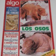 Coleccionismo de Revistas y Periódicos: REVISTA ALGO Nº 255 DEL AÑO 1974. Lote 189541590