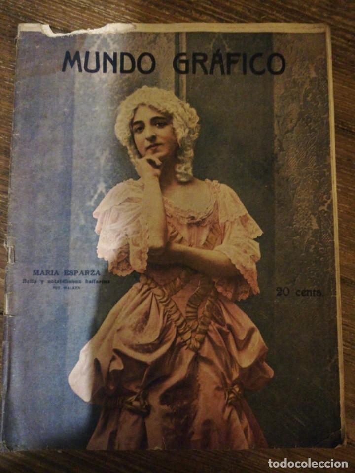 Coleccionismo de Revistas y Periódicos: Lote de 6 Revistas Mundo Grafico 1916,1923... - Foto 2 - 133358962