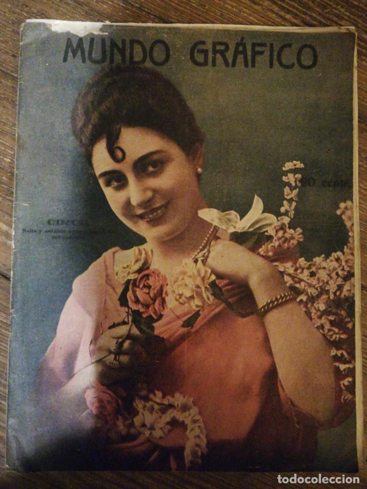 Coleccionismo de Revistas y Periódicos: Lote de 6 Revistas Mundo Grafico 1916,1923... - Foto 4 - 133358962