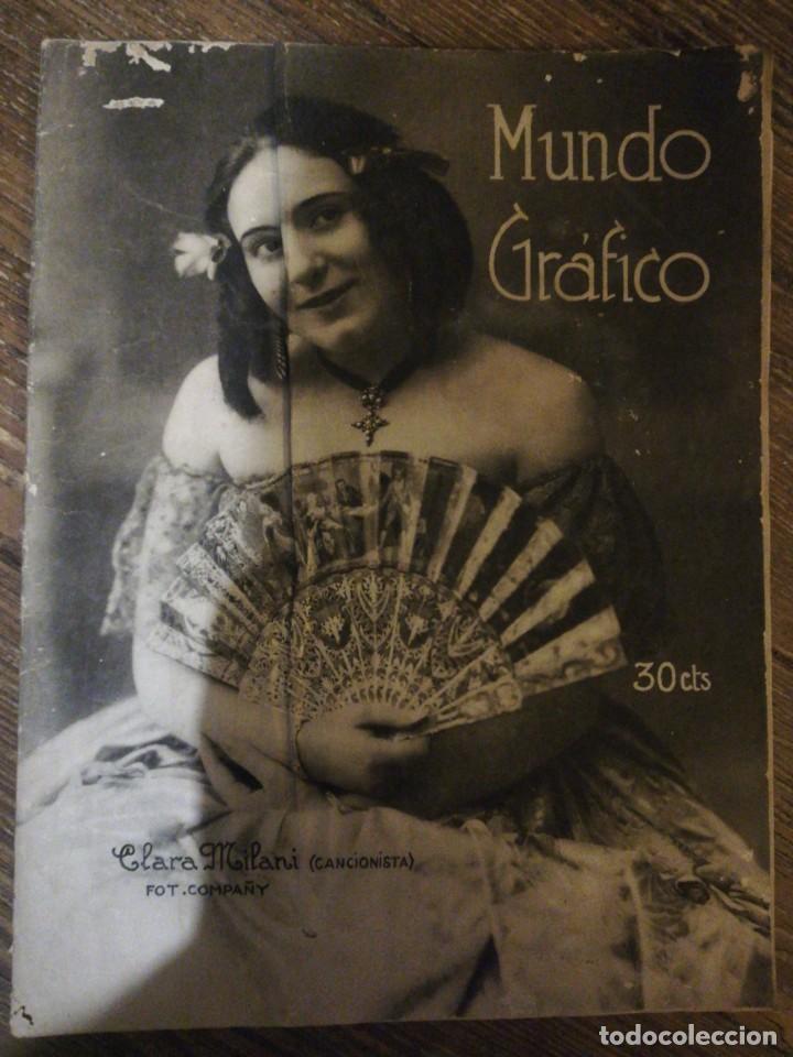 Coleccionismo de Revistas y Periódicos: Lote de 6 Revistas Mundo Grafico 1916,1923... - Foto 5 - 133358962
