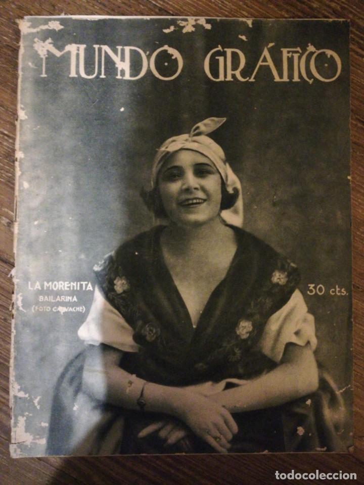Coleccionismo de Revistas y Periódicos: Lote de 6 Revistas Mundo Grafico 1916,1923... - Foto 6 - 133358962