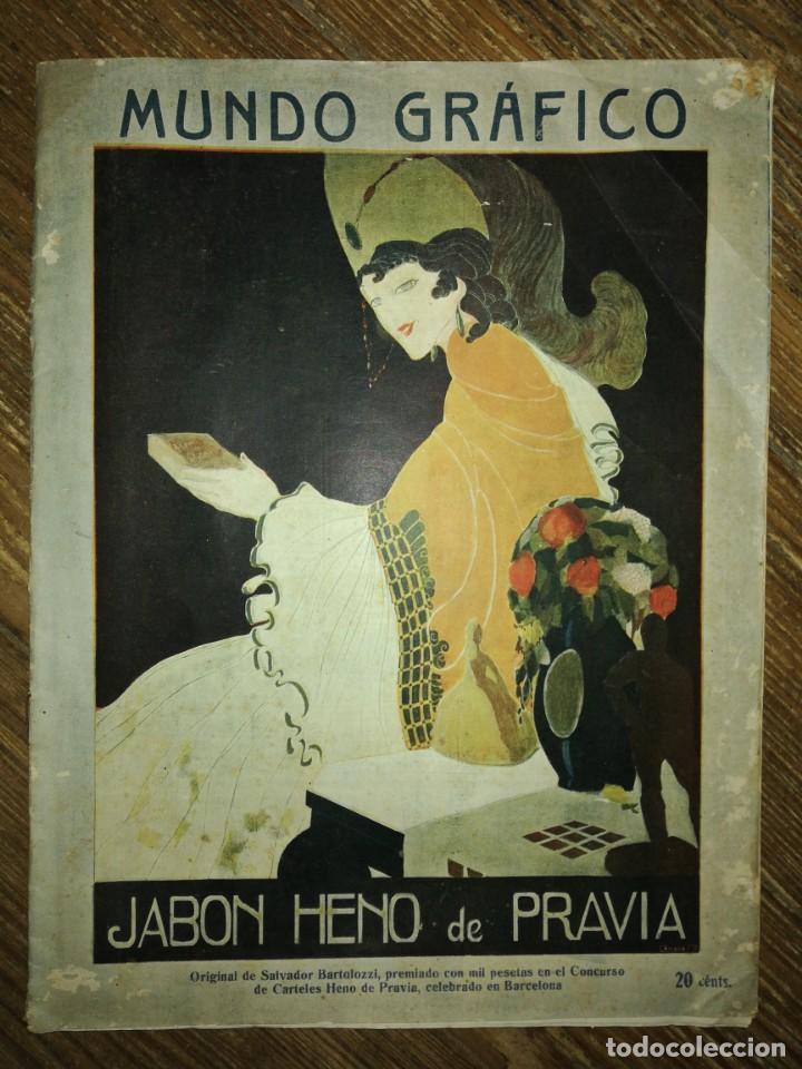 Coleccionismo de Revistas y Periódicos: Lote de 6 Revistas Mundo Grafico 1916,1923... - Foto 7 - 133358962