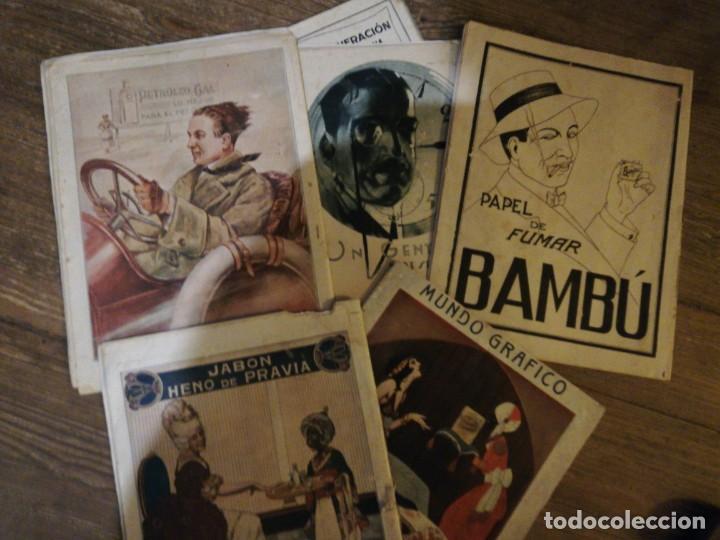 Coleccionismo de Revistas y Periódicos: Lote de 6 Revistas Mundo Grafico 1916,1923... - Foto 8 - 133358962