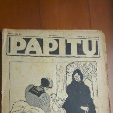 Coleccionismo de Revistas y Periódicos: PAPITU (FALTA PAG.165). Lote 133388755