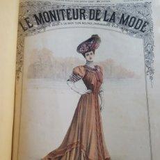 Coleccionismo de Revistas y Periódicos: LE MONITEUR DE LA MODE. REVISTA FRANCESA DE MODA AÑO 1906 MULTITUD DE FIGURINES GRABADOS 49 REVISTAS. Lote 133391065