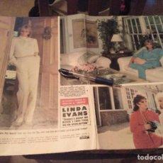 Colecionismo de Revistas e Jornais: RECORTE REVISTA 1984 5 PAGINAS LINDA EVANS LA ELEGANTE KRYSTLE CARRINGTON DE DINASTIA . Lote 133412502