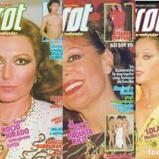 Coleccionismo de Revistas y Periódicos: PIERROT - 3 REVISTAS. Lote 133439310