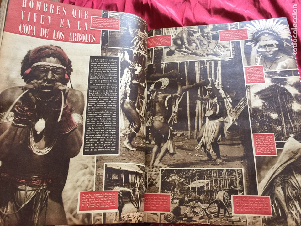 Coleccionismo de Revistas y Periódicos: Tomo colección revistas semana año 1940 - Foto 6 - 133457367
